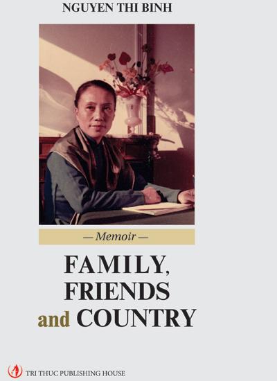 Bìa ấn bản tiếng Anh cuốn hồi ký của bà Nguyễn Thị Bình.