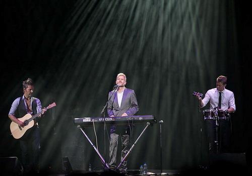 Ba thành viên của Michael Learns to Rock (từ trái sang) - Mikkel, Jascha và Kare.