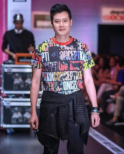 Nhiều khách mời trong trường quay cho biết ngoài sự ngạc nhiên, họ còn cảm thấy thích thú khi nhìn thấy Quang Dũng là một nam ca sĩ vốn luôn được biết đến với hình tượng chững chạc trên sân khấu trong vai trò người mẫu với trang phục trẻ trung như thế.