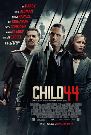 "Poster phim ""Child 44""."