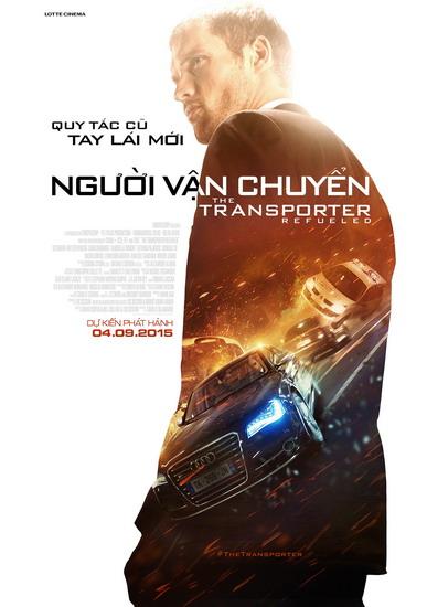 """Poster phim """"Người vận chuyển 4""""."""