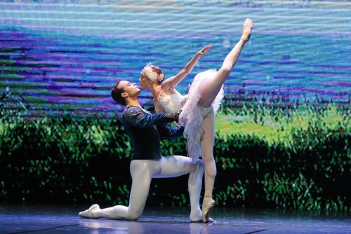 Câu chuyện tình yêu giữa hoàng tử Siegfried và nữ hoàng thiên nga Odette vẫn khiến các trái tim yêu ballet phải thổn thức.