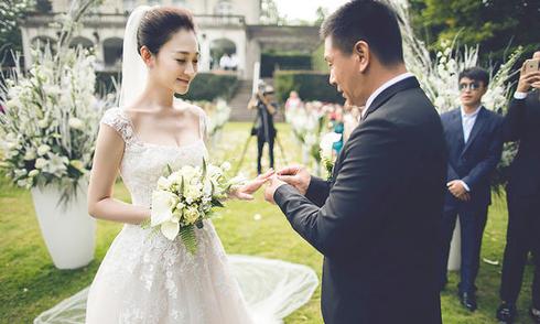 Đám cưới châu Âu của mỹ nhân 'Như sương, như mưa lại như gió'