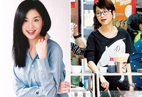 """Đàm Tiểu Hoàn - Hoa hậu Hong Kong 1994  từng đóng """"Pháp chứng tiên phong 3"""", """"Tiêu Thập Nhất Lang""""... Tiểu Hoàn kết hôn năm 2007. Vì cho rằng lương ở TVB thấp, người đẹp mở sạp bán đồ ăn vặt (xiên cá) trên một con phố ở Hong Kong. Nhờ buôn bán thuận lợi, cô mở rộng việc kinh doanh. Tiểu Hoàn từng nói: """"Đến tuổi này tôi không còn quan tâm đến những dị nghị, bàn tán. Vẻ đẹp đẽ hào nhoáng không biến thành cơm mà ăn được""""."""