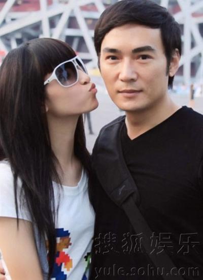 Tiêu Ân Tuấn và con gái với vợ cũ.