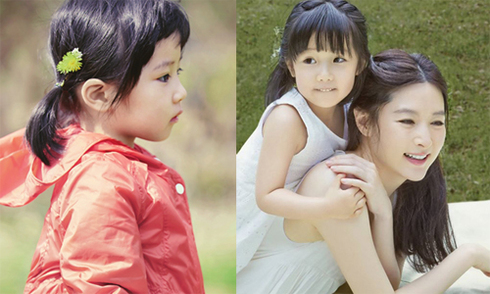 Các khoảnh khắc làm mẫu của con gái Lee Young Ae