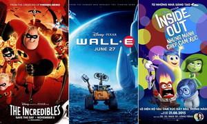 10 phim hoạt hình hay nhất của hãng Pixar
