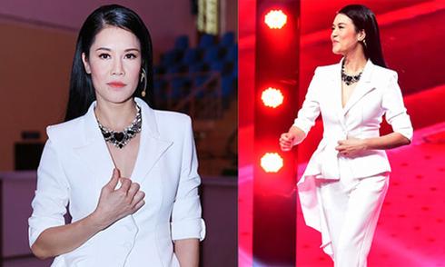 Thu Phương đổi phong cách với thiết kế của Tăng Thanh Hà