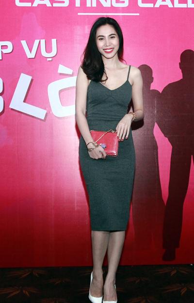 Thủy Tiên xuất hiện tại buổi casting phim đầu tay.