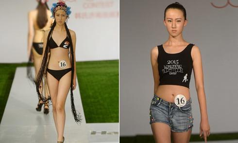 Cô gái 12 tuổi cao 1,77 m đi thi người mẫu