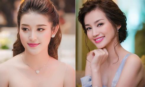 Mỹ nhân TVB xúng xính váy áo đi xem thi hoa hậu