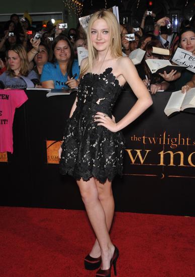 8. Dakota Fanning  $4 Million for The Twilight Saga: Breaking Dawn, 2009 (Age 15) and Part 2 (Age 18)