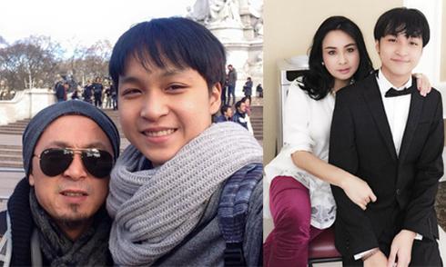 Con trai Thanh Lam - Quốc Trung thương mẹ và ngưỡng mộ bố