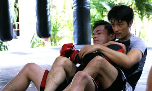 Buổi luyện võ của Johnny Trí Nguyễn và học trò