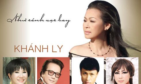 Khánh Ly cùng 4 danh ca hải ngoại làm đêm nhạc chung