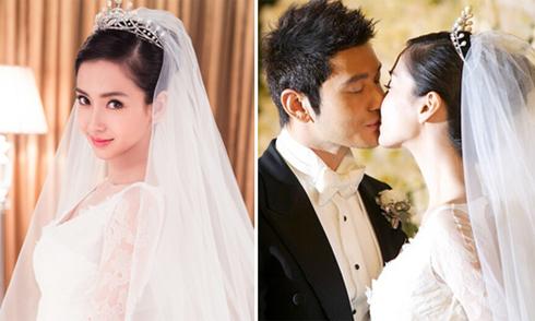 Khoảnh khắc ngọt ngào trong đám cưới Hiểu Minh - Angelababy