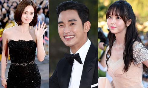 Kim Tae Hee khoe sắc cùng dàn sao Hàn trên thảm đỏ