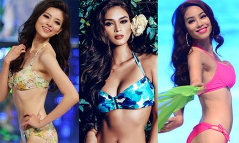 Nhan sắc châu Á tại Hoa hậu Hoàn vũ 2015