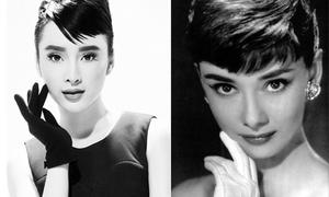 Angela Phương Trinh tái hiện hình ảnh Audrey Hepburn