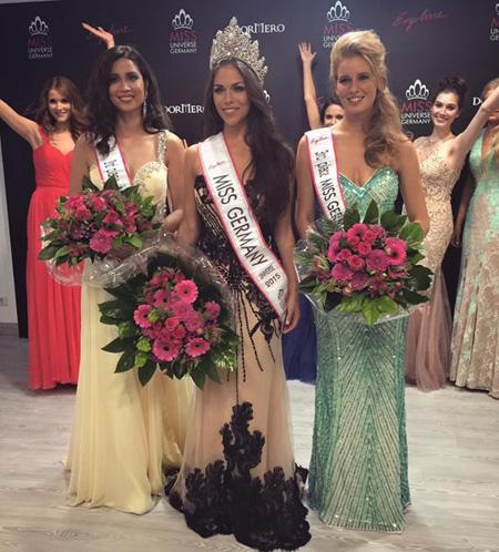 Nhan sắc của tân Hoa hậu Hoàn vũ Đức