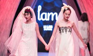 Li Lam đem đám cưới đồng tính nữ lên sàn catwalk