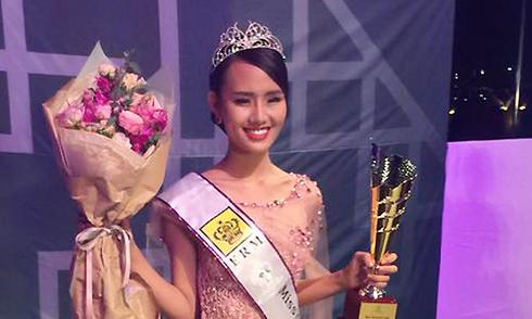 Người đẹp Việt thi chui đoạt Á hậu bốn 'Nữ hoàng sắc đẹp toàn cầu'