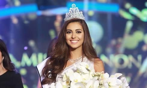 Vẻ đẹp ngọt ngào của Hoa hậu Libăng 2015