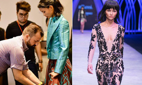 Tuần thời trang Quốc tế VN: Mệt nhoài với những chiếc váy nghìn đô