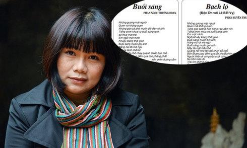 Nhã Nam ngừng phát hành tập thơ 'Sẹo độc lập' của Phan Huyền Thư
