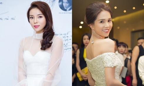 Kỳ Duyên, Ngọc Trinh mặc đẹp nhất tuần với váy công chúa