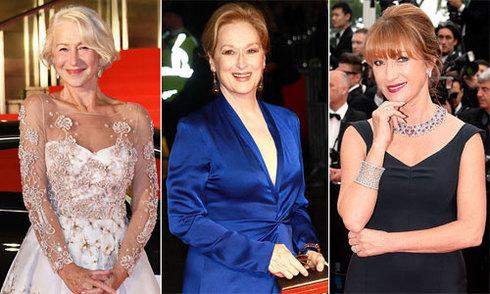 Những sao nữ ngoài 60 tuổi vẫn quyến rũ