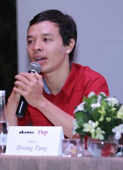 Nghệ sĩ kịch câm Hoàng Tùng.