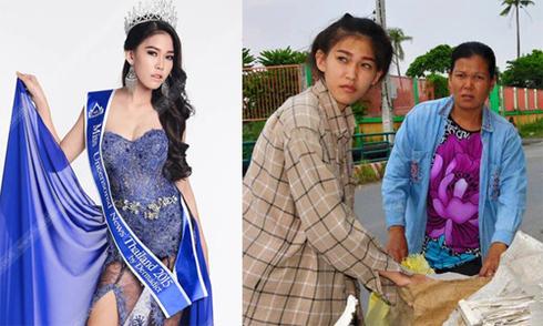 'Hoa hậu nhặt rác' Thái Lan bị tố gian dối