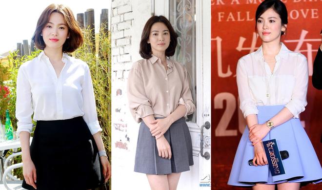 Phong cách 'đóng khung' của những mỹ nhân châu Á