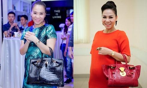 Những chiếc túi hiệu giá hàng tỷ đồng của Thu Minh