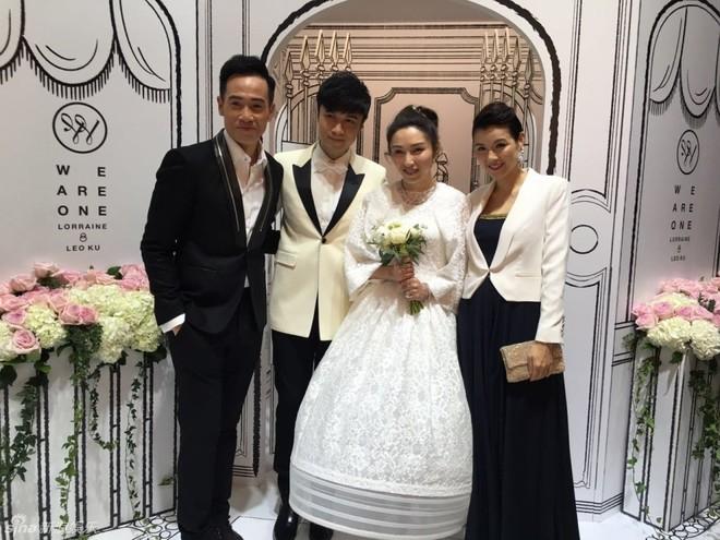Dàn sao Hong Kong dự đám cưới Cổ Cự Cơ