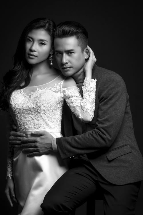 Lương Thế Thành, Thúy Diễm chụp ảnh cưới đen trắng