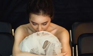 Angela Phương Trinh mong manh trong tạo hình thiên nga