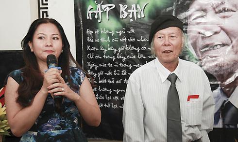 Con gái Thanh Tùng ngâm thơ mừng sinh nhật bố