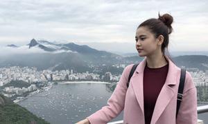 Trương Quỳnh Anh khám phá Brazil