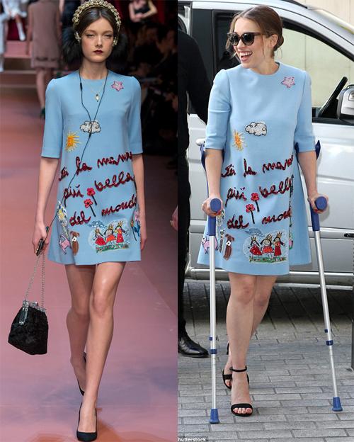 Sao mê mẩn váy áo họa tiết nét vẽ trẻ thơ