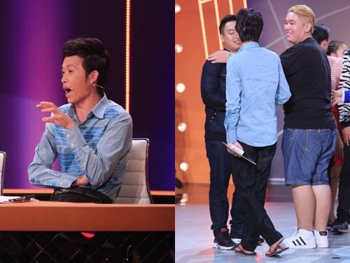 """Sự giản dị của Hoài Linh khi ngồi ghế """"nóng"""" luôn được khán giả yêu thích, ngưỡng mộ."""