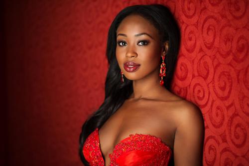Người đẹp Ghana.