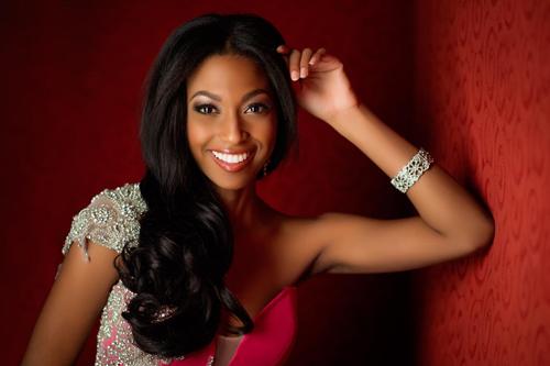 Hoa hậu Haiti.