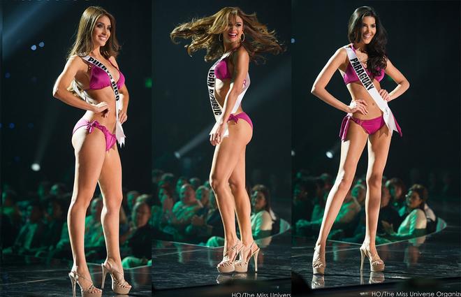 Thân hình nóng bỏng của thí sinh Miss Universe
