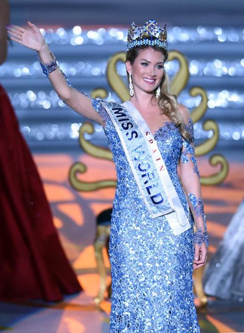 Nhan sắc của Hoa hậu Thế giới 2015