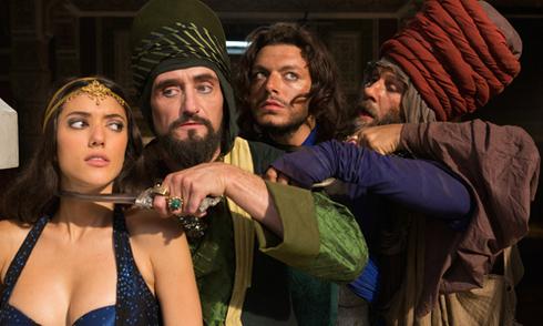 Phim mới về Aladin và Thần đèn gây cười