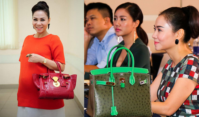 'Cuộc đua' hàng hiệu của mỹ nhân Việt
