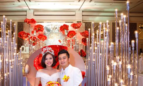 Tiệc cưới lung linh của Vân Trang