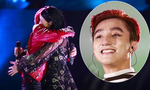 Sơn Tùng M-TP 'tỏ tình' với Thu Phương trên sân khấu